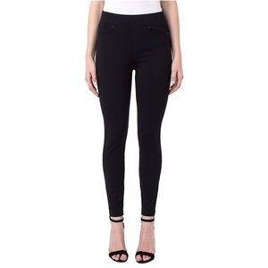 Liverpool Jean Co. Sienna Pull On Legging Black 10